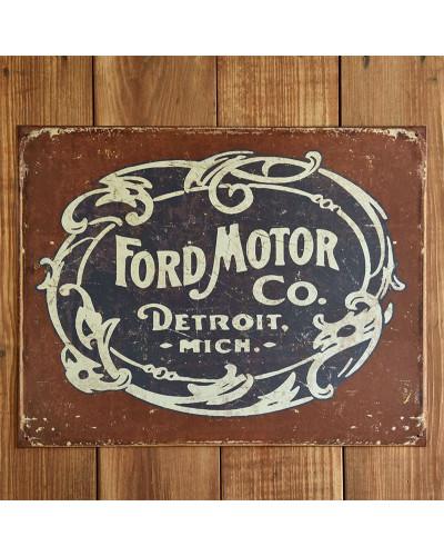 Plechová cedule Ford - Historic Logo 32cm x 40 cm p