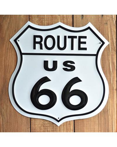Plechová cedule Route 66 Shield 27 cm x 27 cm