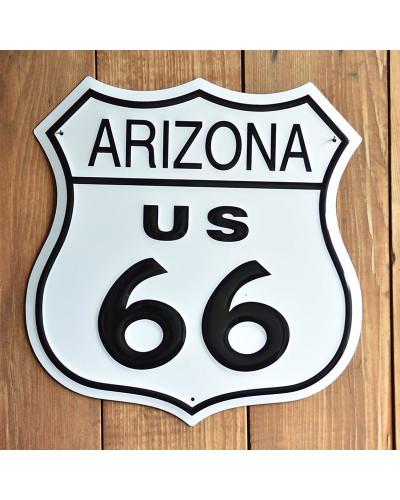 Plechová cedule Route 66 Arizona Shield 27 cm x 27 cm