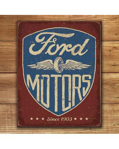 Plechová cedule Ford Motors Since 1903 p