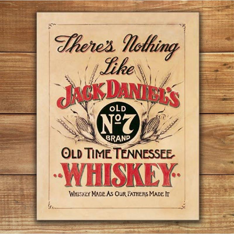 Plechová cedule Jack Daniels - Nothing Like 40cm x 32cm