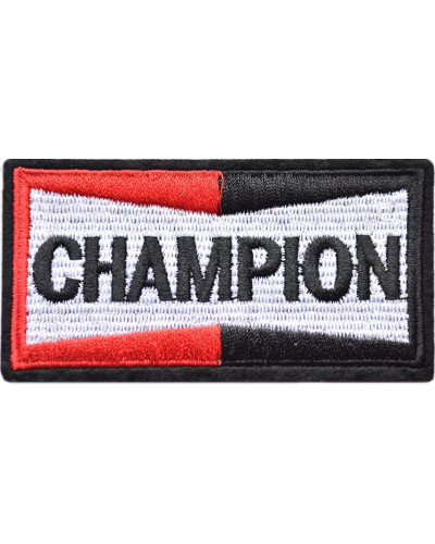 Moto nášivka Champion 9cm x 4cm