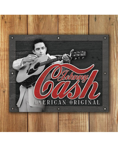 Plechová cedule Johnny Cash - American Original 32cm x 40cm