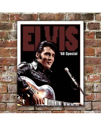 Plechová cedule Elvis - 1968 Special 32cm x 40cm w
