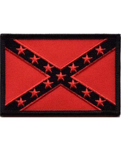 Nášivka Confederate Flag red 9cm x 6cm