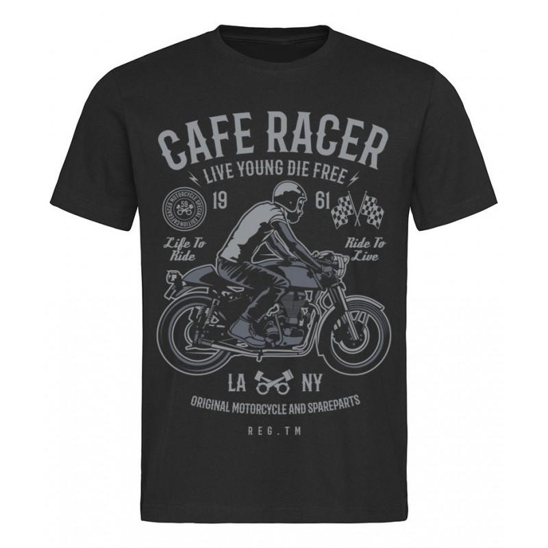 Tričko Cafe Racer 1961 černé