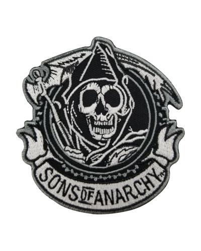 Moto nášivka Sons of Anarchy round 8cm x 8cm