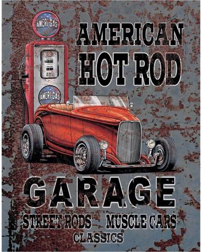 Plechová cedule Legends - American Hot Rod 40 cm x 32 cm