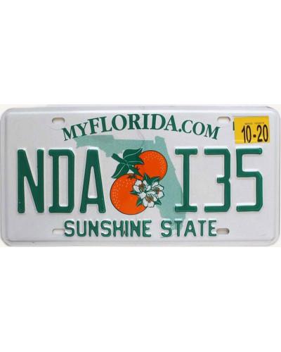 Americká SPZ Florida My.com