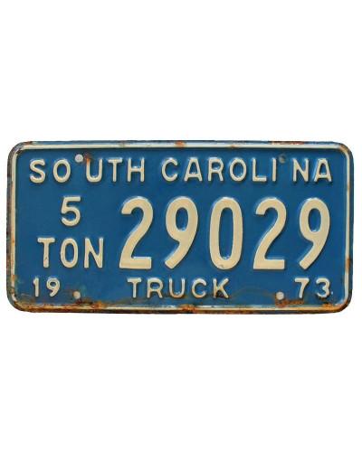 Americká SPZ South Carolina Truck 1973