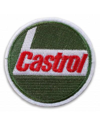Moto nášivka Castrol 7 cm