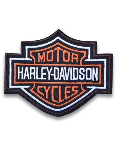 Moto nášivka Harley Davidson Bar and Shield 10cm x 8cm