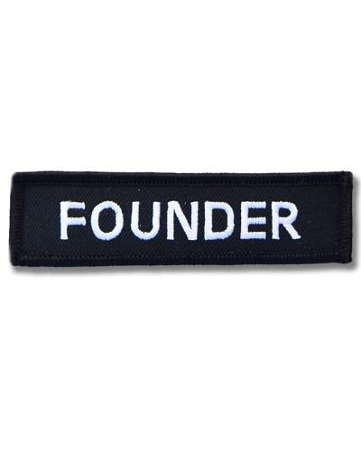 Moto nášivka Founder 10cm x 3cm