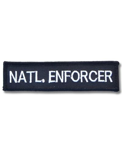 Moto nášivka Natl. Enforcer 10cm x 3cm