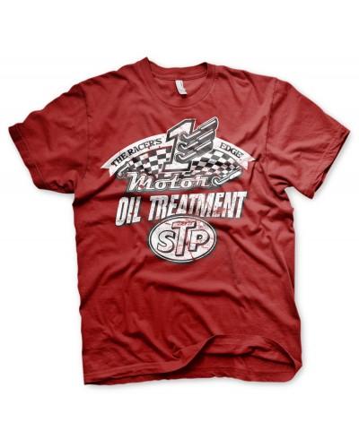 Pánské tričko STP Oil Treatment červené