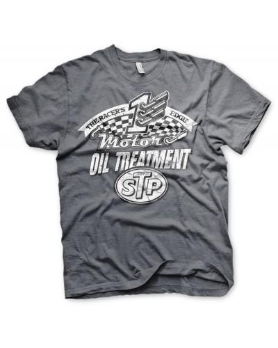 Pánské tričko STP Oil Treatment šedé